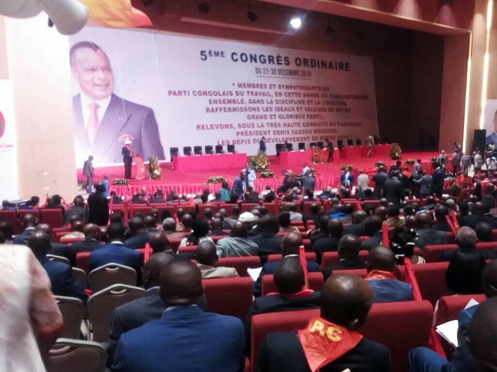 Congo: Ouverture du 5è congrès ordinaire du Parti congolais du Travail