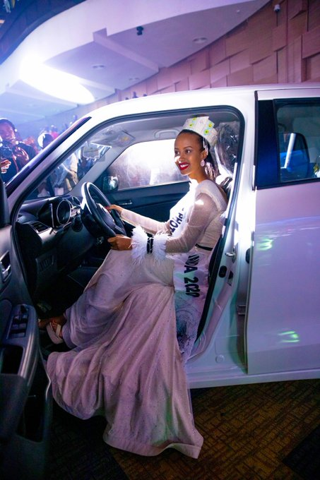 Naomie Nishimwe élue Miss Rwanda 2020