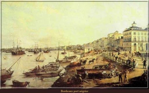 Port négriers de Bordeaux