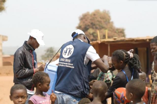 Vaccination contre la polio en RDC