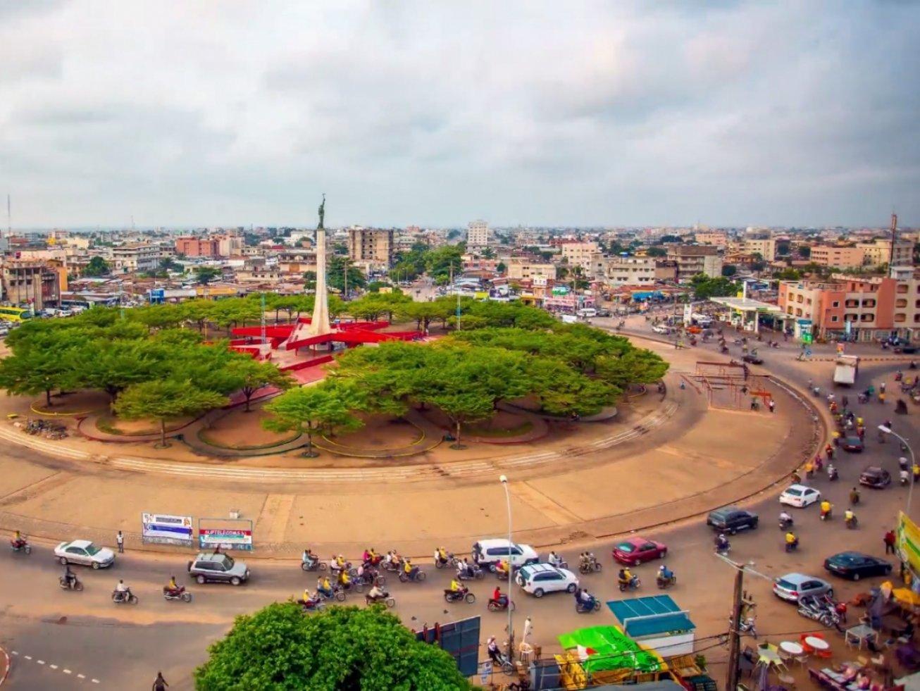 Place de l'étoile rouge à Cotonou