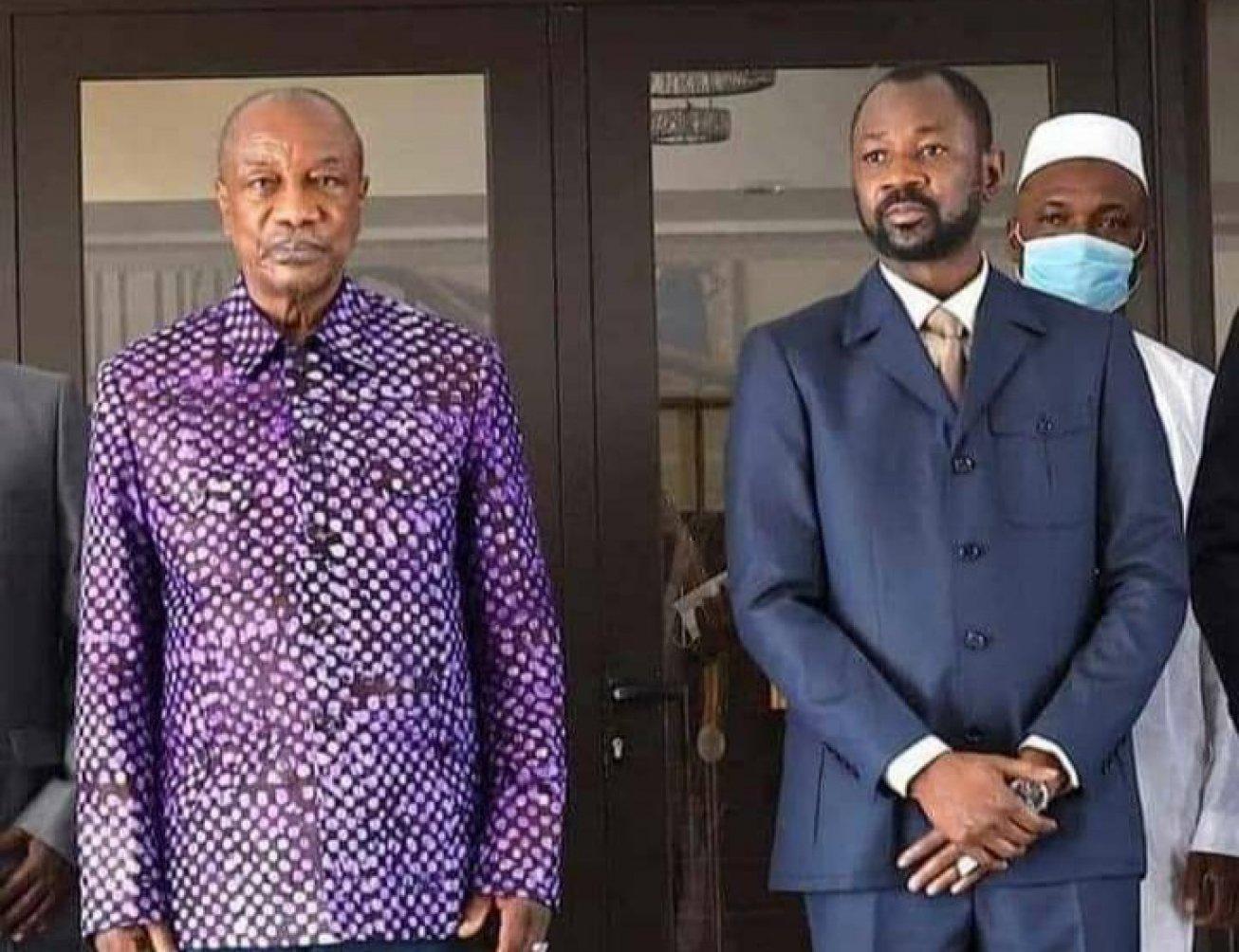 Guinée : lutte contre le terrorisme, Alpha Condé plaide pour une force  conjointe