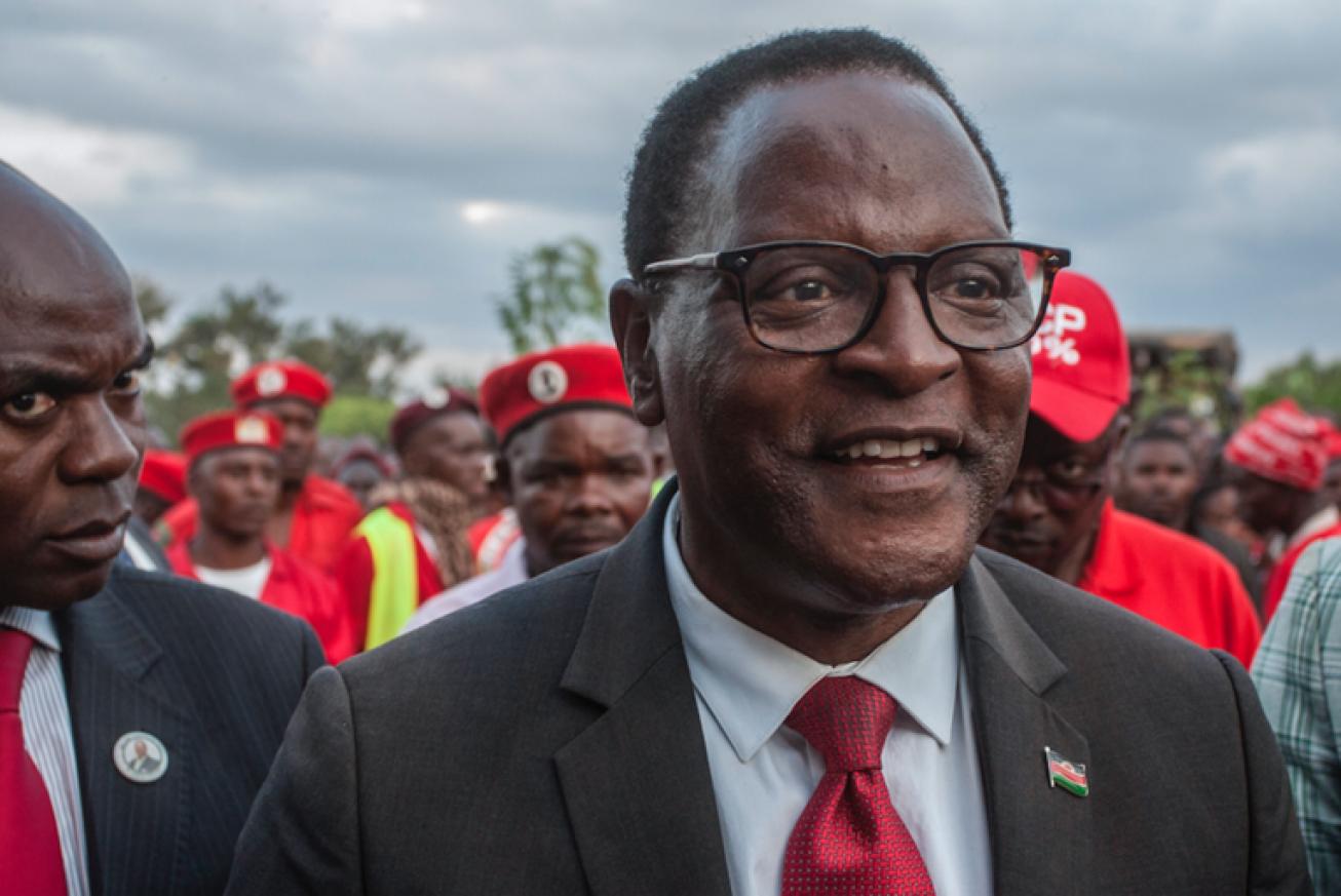 Amos Gumulira / AFP