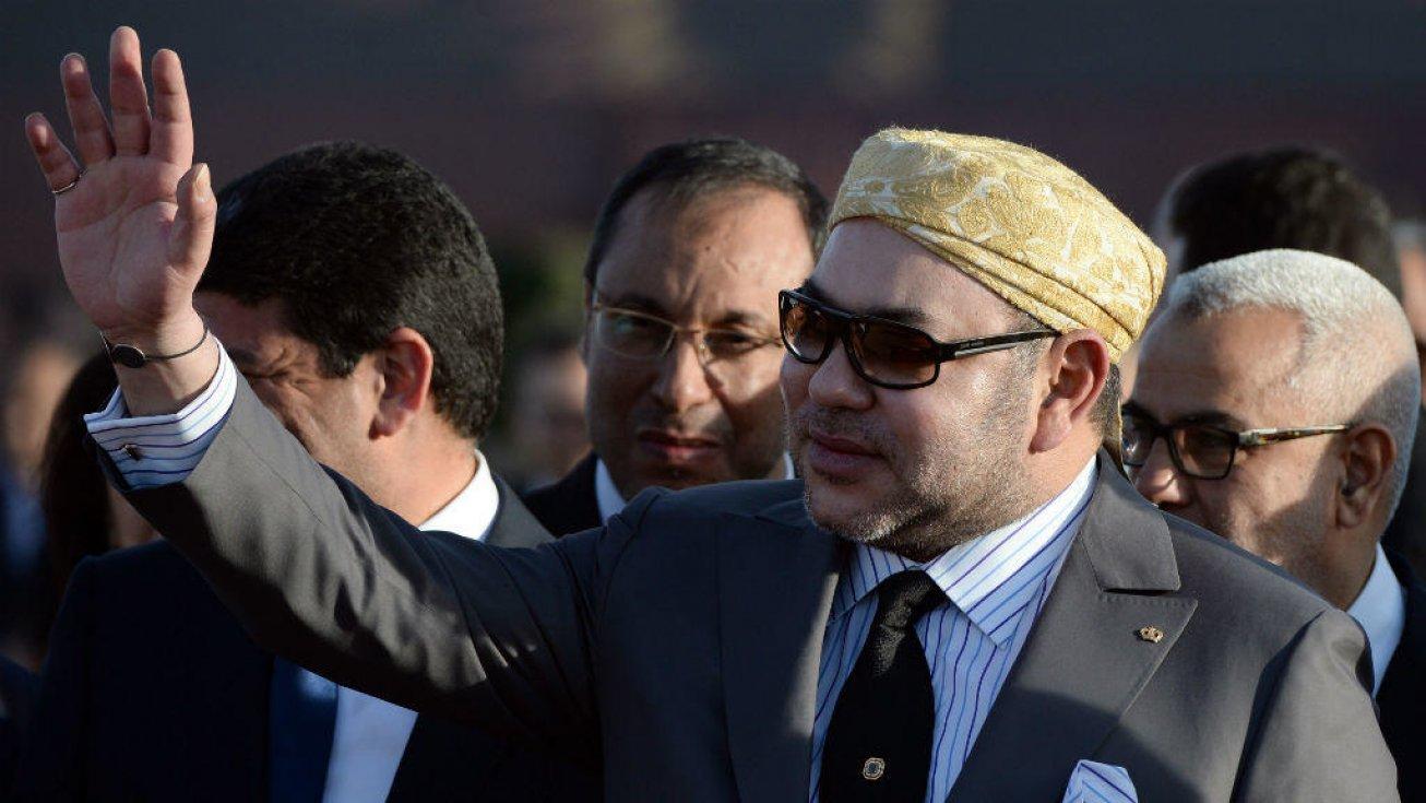 Mohammed VI à Ouarzazate, le 4 février 2016. Fadel Senna, AFP ( illustration)
